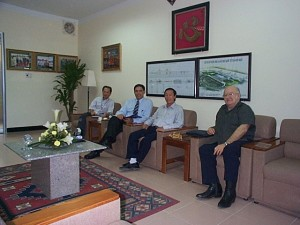 Meeting with CIENCO 6 Construction Corperation in district 6, HCMC